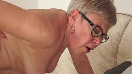 Grandma Ursula Fucked by a young stud