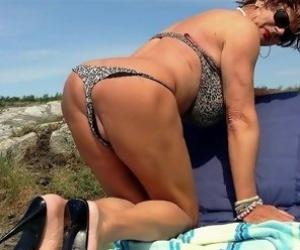 Granny In Bikini Videos